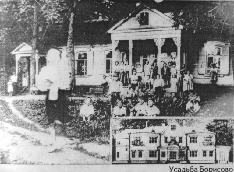 В Борисово началось строительство в старинном парке