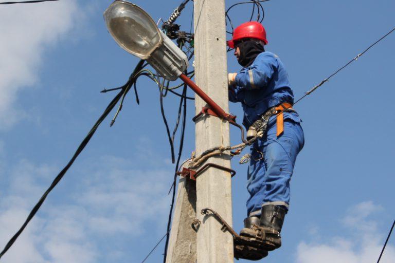 Отключение электроэнергии в городском округе Клин