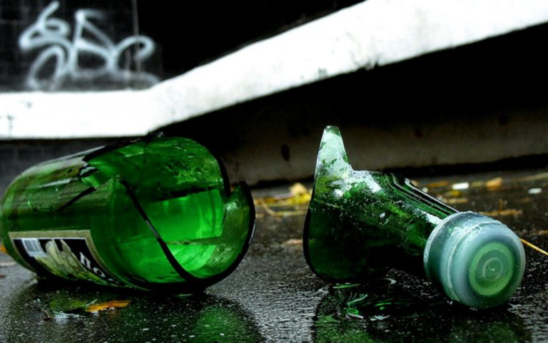Клинский магазин стал местом избиения бутылками