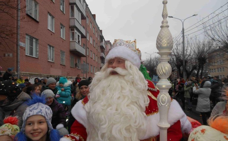 Дед Мороз в Клину