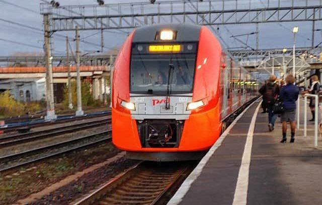 Будут отменены 11 электричек на участке Москва – Клин