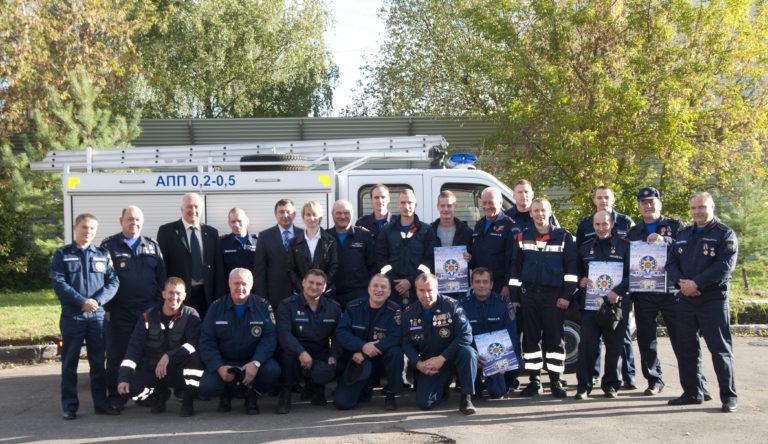 Клинский спасательный отряд, где люди работают по призванию