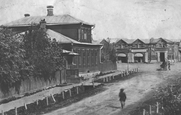 Дом Воскресенских, Клин-1914