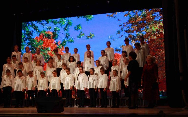 Открытие III хорового беиннале