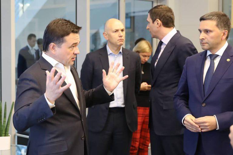 Губернатор Андрей Воробьёв представил систему контроля сбора ТКО Подмосковья