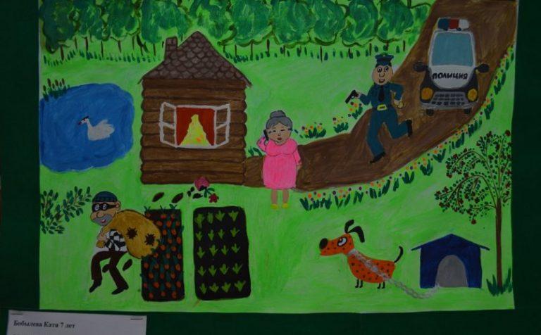Семилетняя клинчанка заняла первое место в областном конкурсе «Мои родители работают в полиции!»