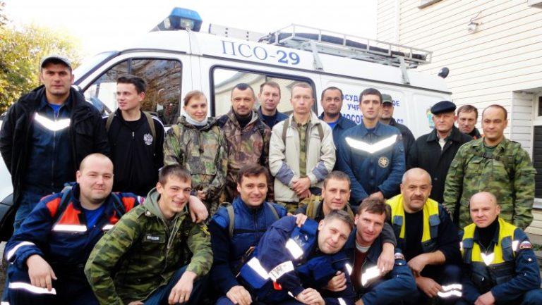 Спасательный отряд Клинского теруправления Мособлпожспас отмечает день рождения