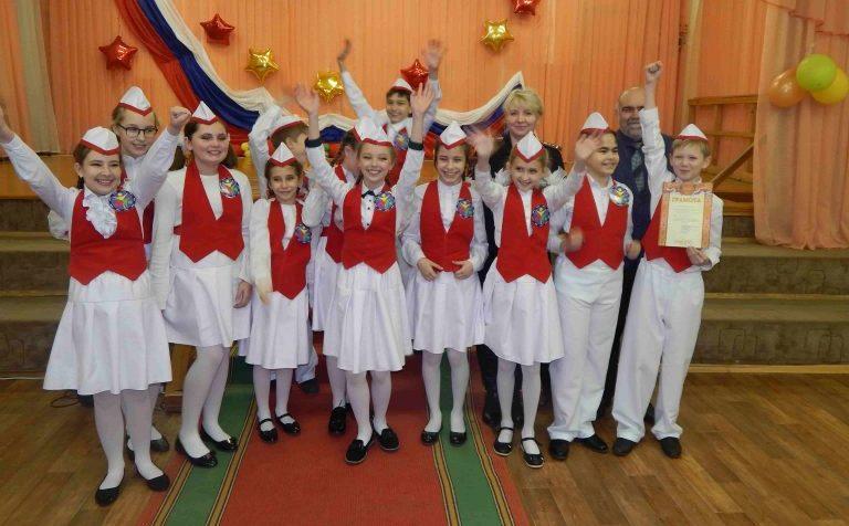 В Клину прошёл конкурс школьных агитбригад