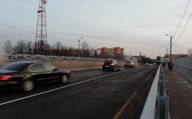 В штатном режиме идёт движение на Волоколамском мосту в Клину