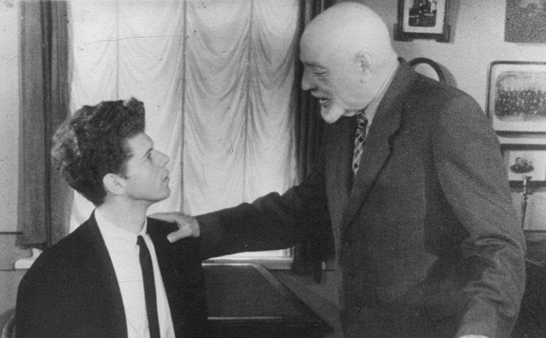 Давыдов Ю.Л. и Ван Клиберн 1958 г