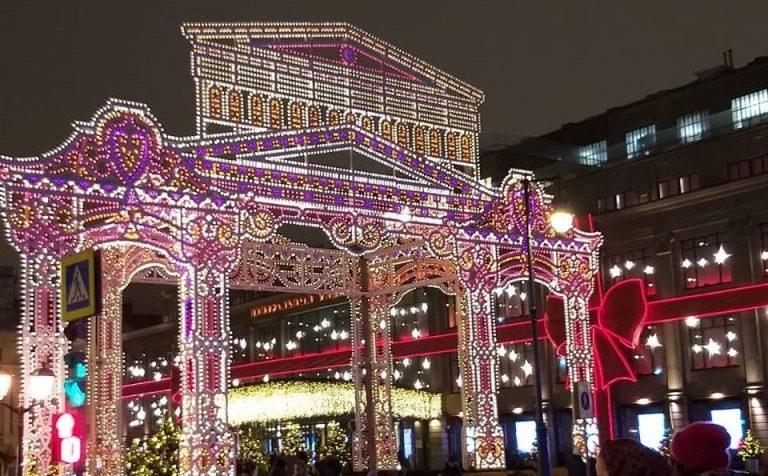 Более 270  мероприятий пройдет в Москве в новогодние праздники