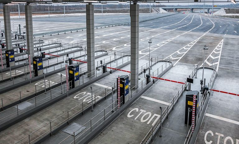 В январе тарифы проезда по трассе М11 изменятся на понижение