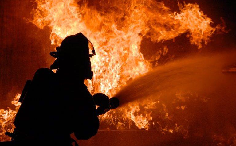В огне нашли нашли тело