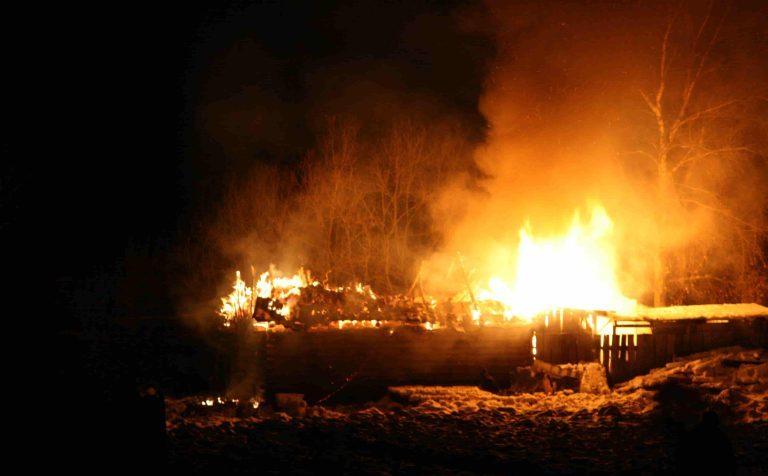 Главной причиной пожаров стала неосторожность