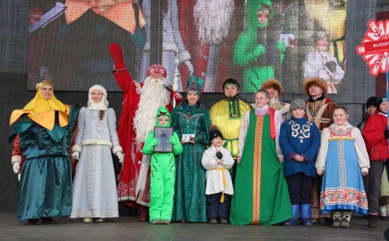 Дед Мороз в Клину 5