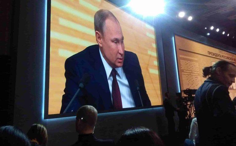 пресс-конференция ВВП 2