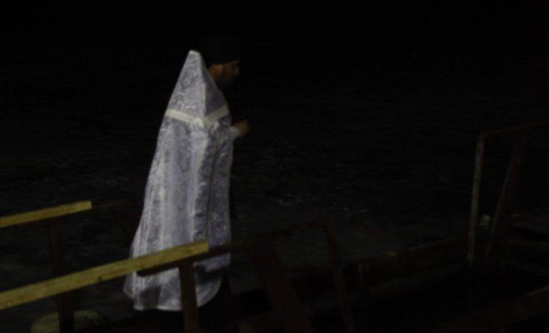 Крещенские купания прошли и в Высоковске