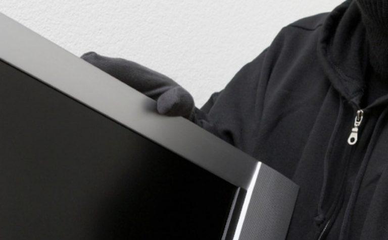 Ранее судимый клинчанин украл телевизор