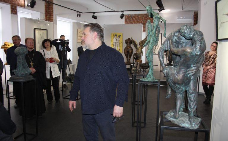 Смело, экспрессивно, талантливо. Выставка клинского скульптора в Щёлково
