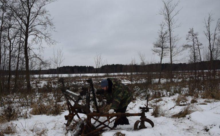 Под Клином найден советский бомбардировщик времён войны