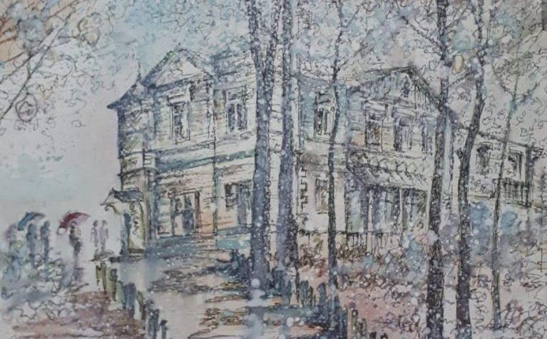 Рисунок Вячеслава Феоктистова
