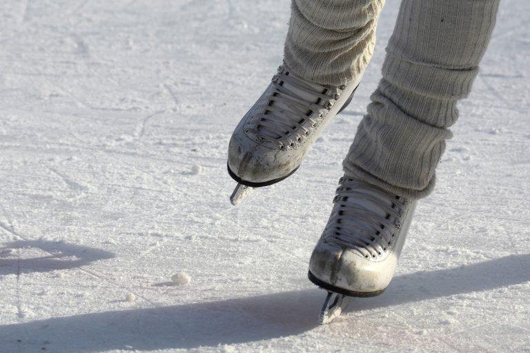 В Электростали прошли соревнования Московской области по фигурному катанию.