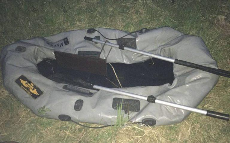 Сезон начался. В городском округе Клин украли лодку.