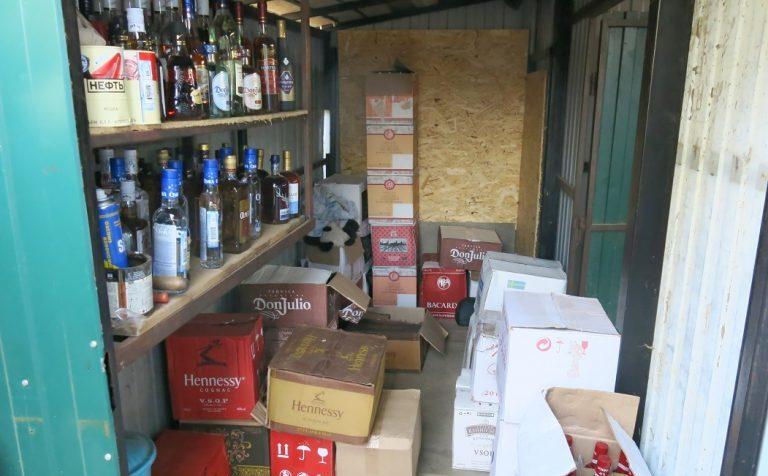 Клинская полиция изъяла «левый» алкоголь