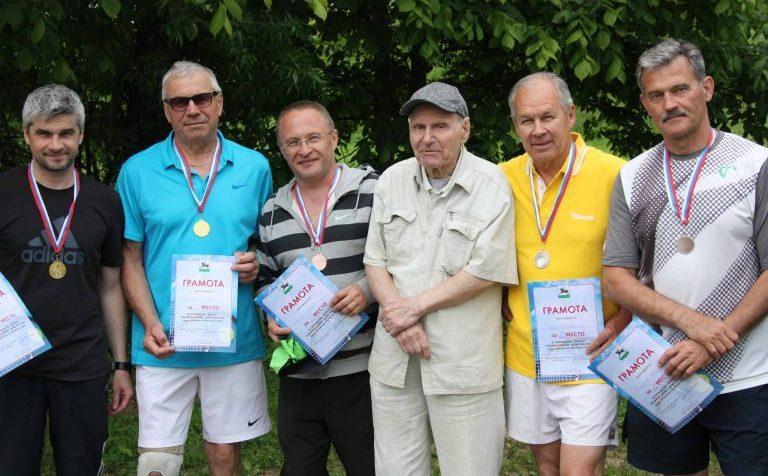 Владимир Горбунов и теннисисты