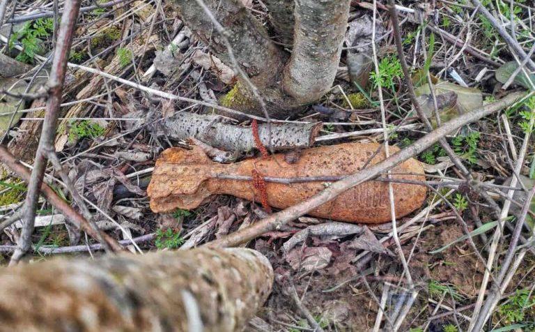 Под Солнечногорском обнаружен боеприпас времён войны