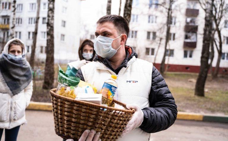 Более 330 вызовов отработали волонтеры Солнечногорска с начала карантина