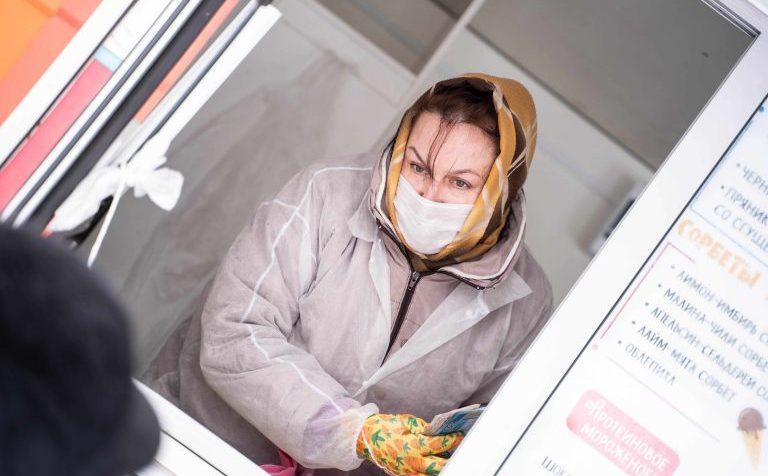 Продукты жителям удаленных деревень в городском округе Солнечногорск доставляет автолавка