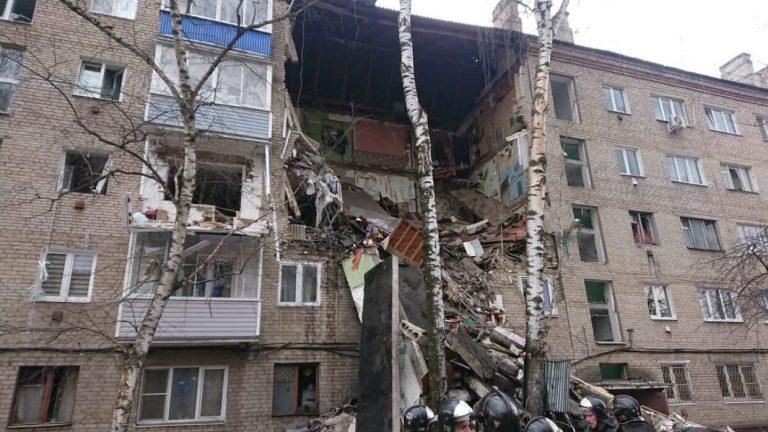 Взрыв в жилом доме произошел в Орехово-Зуево