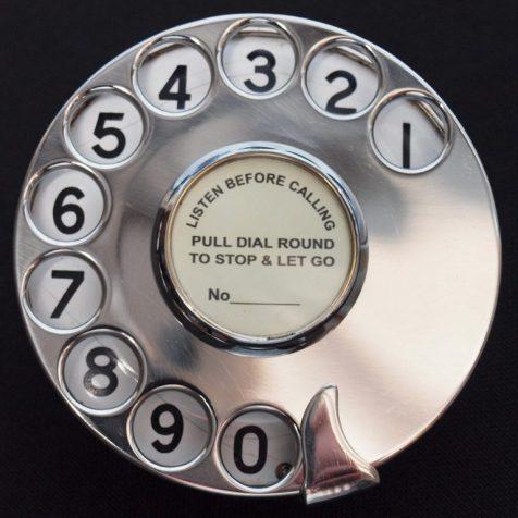 Диск телефона