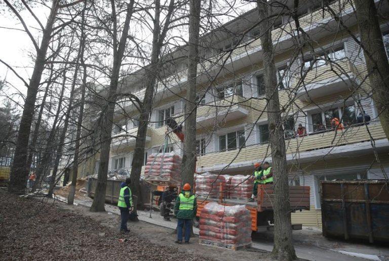 Центр для лечения коронавируса  откроется в Звенигороде  10 апреля