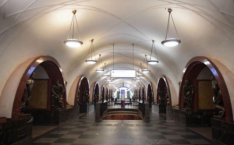 Московская подземка временно закрыла на вход и выход  20 станций