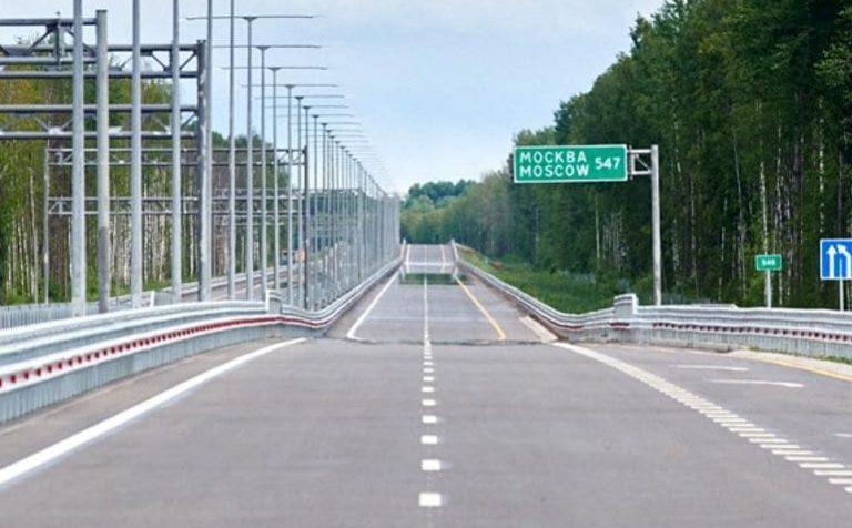 На участке платной трассы от Москвы до Солнечногорска трафик упал на 75%