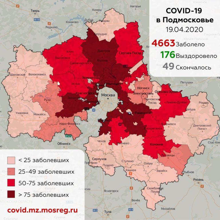 Сводка по ситуации с коронавирусом на 19 апреля