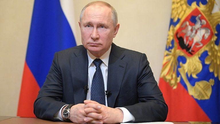 Владимир Путин вновь обратился к гражданам