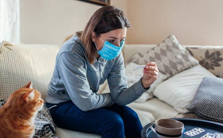 Сколько в Подмосковье заражённых уханьским гриппом лечатся дома
