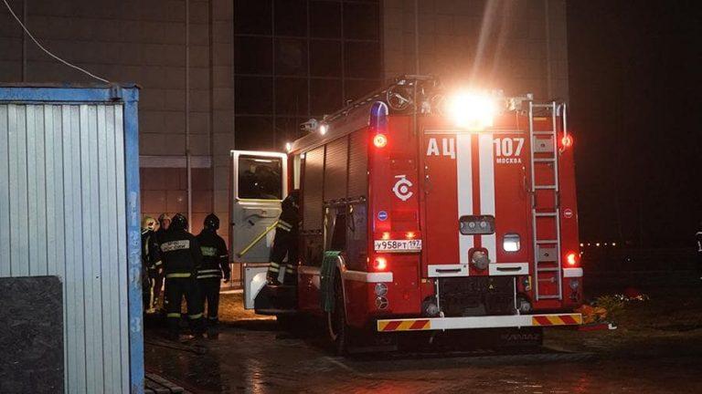При пожаре в хосписе погибли 9 человек
