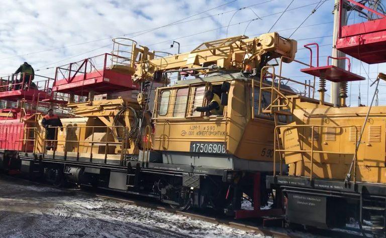 Поезд сошёл с рельс в Клину Московской области