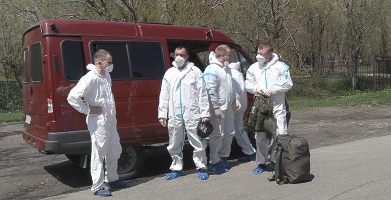 В Подмосковье военнослужащие запаса–медики привлечены для лечения от COVID-19