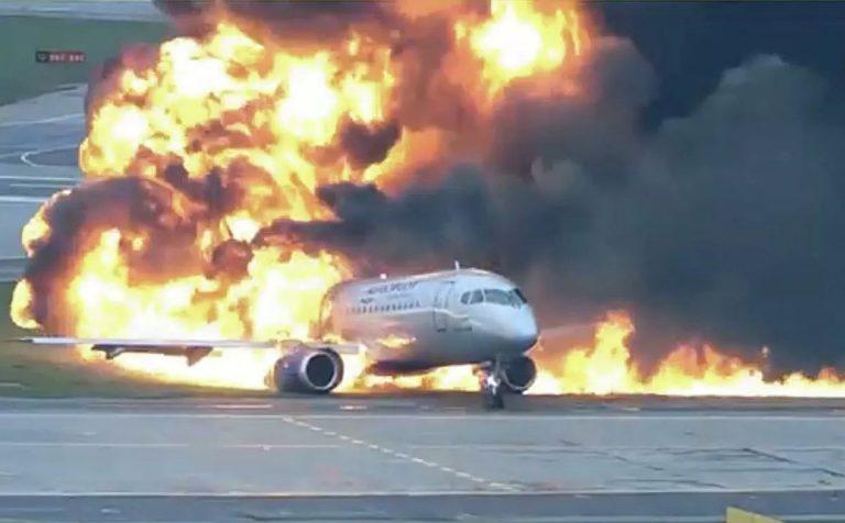 В подмосковных Химках начался суд над капитаном сгоревшего самолёта
