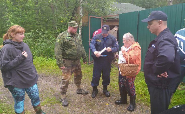 Клинские спасатели вывели из леса 39 человек
