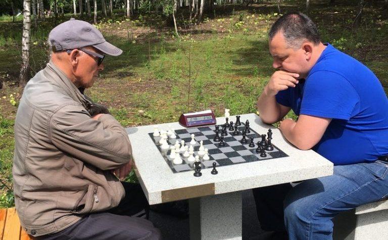 Шахматы на открытом воздухе