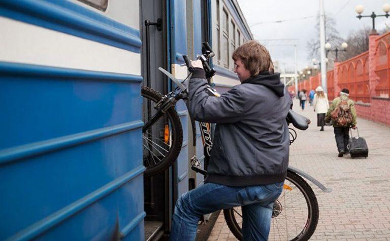 Пассажиры МТ ППК могут бесплатно провозить велосипед в пригородных поездах