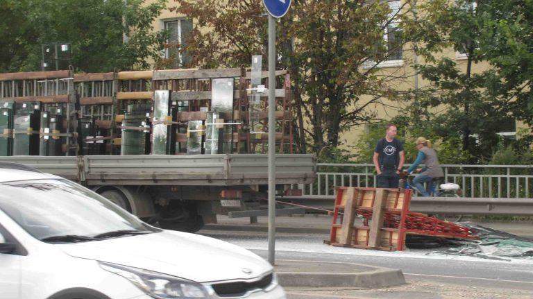 Причиной пробки у Волоколамского моста в Клину стало ДТП