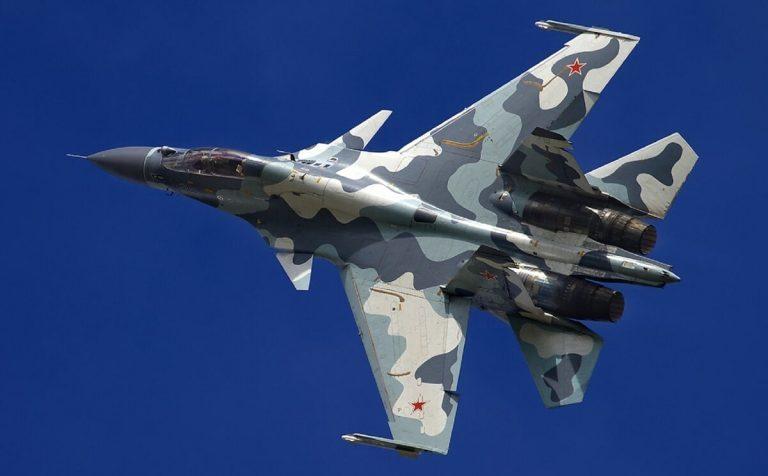 В Тверской области разбился самолёт Су-30