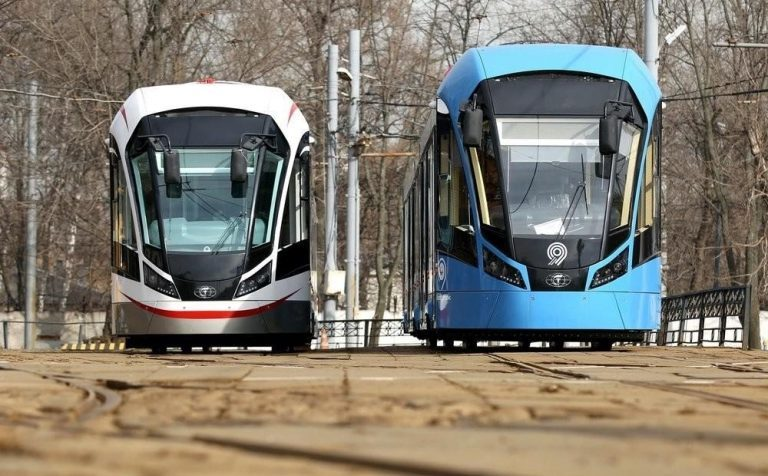 В Москве начнут тестировать беспилотный трамвай